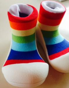 赤ちゃんの靴下の画像