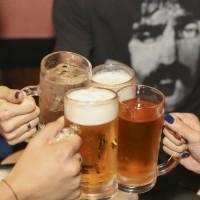 ビールで乾杯!の写真